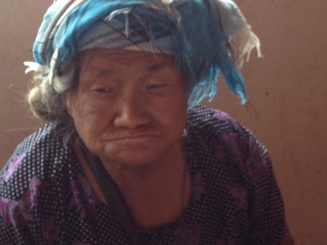chinareis oude vrouw